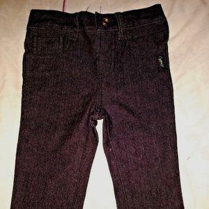 Infant Coogi Black Denim Blue Jeans Pink 3/6 month
